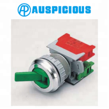 30mm Changeover Switch 2 Position Selector Switch, IP65 (LS302)
