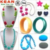 2015 New Design Baby Care Product/ Silicone Teething Necklace for Mum/BPA free/Wholesale and Custom In China