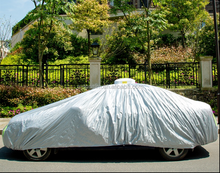 Car Cover Waterproof Folding Garage Car Cover Fabric PEVA Retractable Car Cover