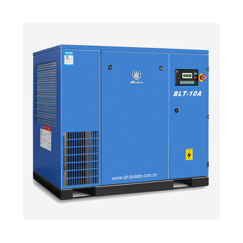 atlas copco 10bar belt driven screw air compressor for industry