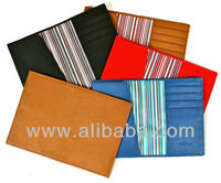 Genuine Soft Lambskin Leather Designer Passport Cover