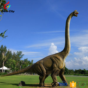 Popular Animated Realistic Outdoor Decoration Dinosaur Model for Park