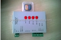 Hot selling Max 2048 points Programmable sd card led controller T-1000S