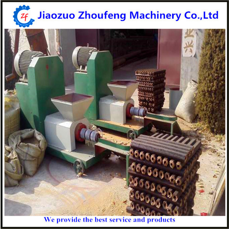 biomass sawdust briquette charcoal making machine