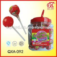 20g Gum Lollipop Fruit Flavoured Candy