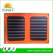 8.5W Foldable Solar Chargers lightweight, portable and remote power for laptop, cell and satellite