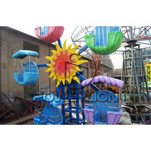 Amusement theme park games kids small mini ferris wheel for sale