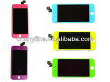 colorful AT&T lcd + digitizer assembly for iphone 5, new arrival!