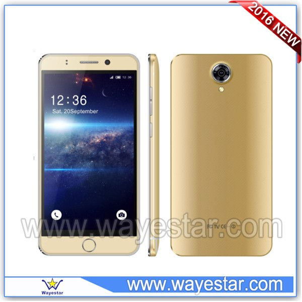 White android cell phone 5.5 inch touch screen cheap mobile phone