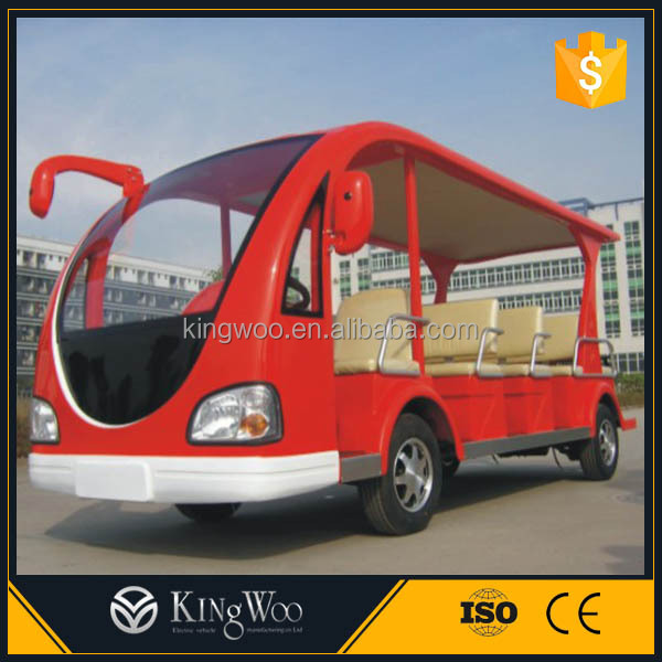 Open Style Mini Electric City Bus/Shuttle Bus