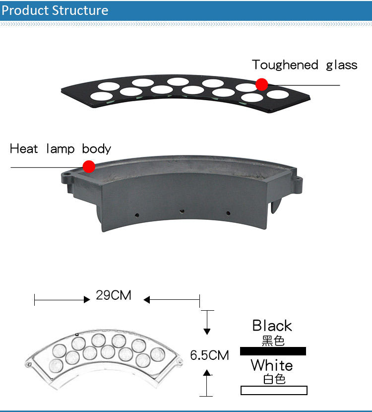 good quality China supplier led garden Landscape light housing