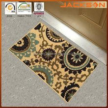 Accent Beige Multicolor Non-Slip Doormat