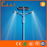 500 watt china solar panel best price 7m pole solar led light