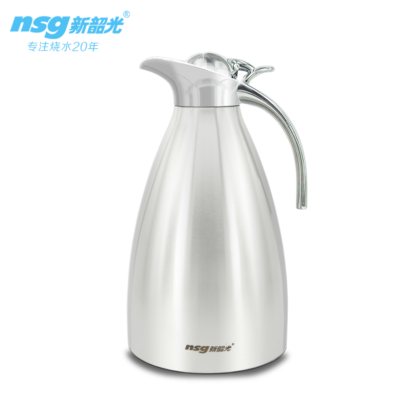 Stainless steel thermos vacuum jug/SS metal coffee pot/stainless steel thermos coffee pot