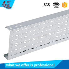 On Sale Galvanized Steel Trunking Electrical Perforated Cable Tray Cover Wiring Accessories