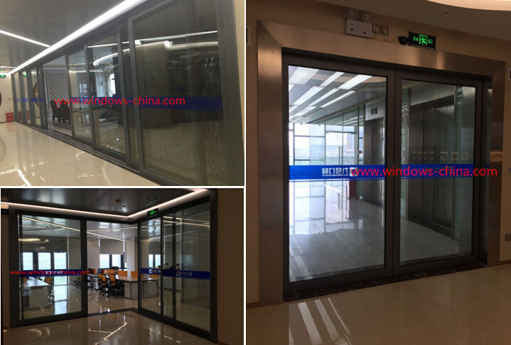Modern popular front door designs aluminum windows and doors /windows and doors from china supplier