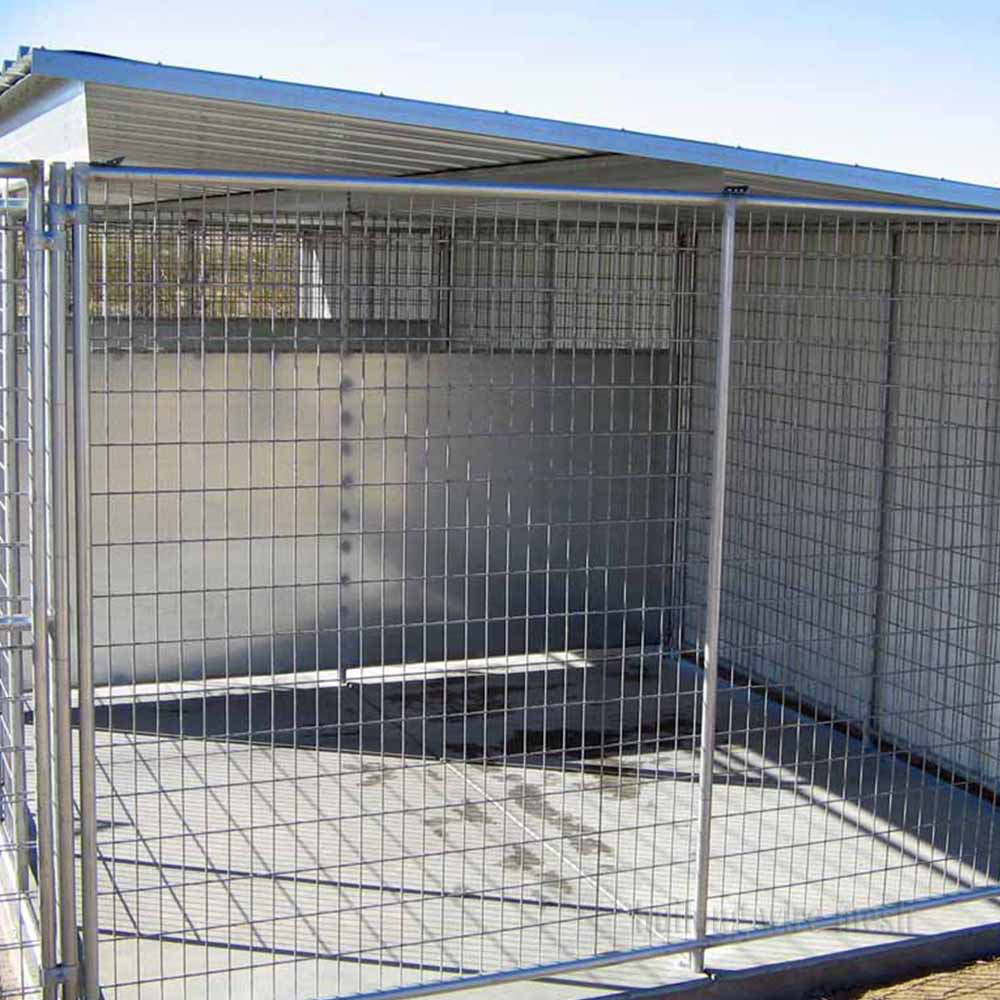 Factory Wholesale welded wire dog run kennels panels
