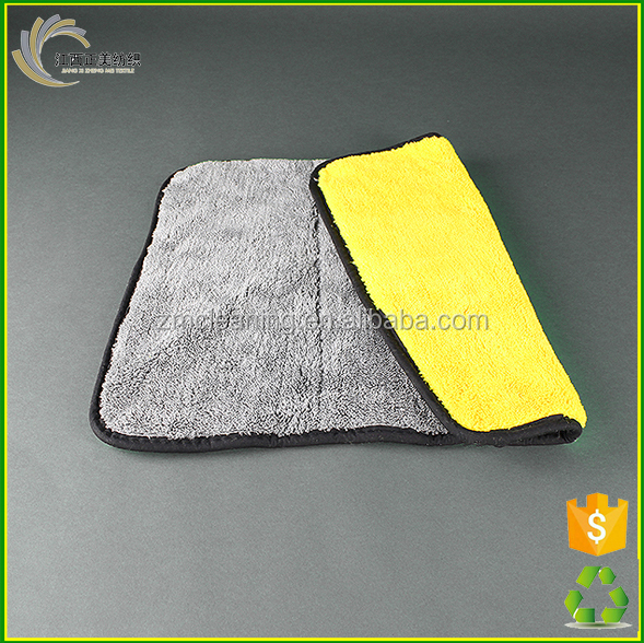 High Quality Super Water Absorption Thick Microfiber Cleaning Cloth Car Wash Towel
