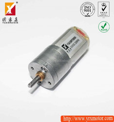 12v high torque battery drive electric dc motor for mini fan