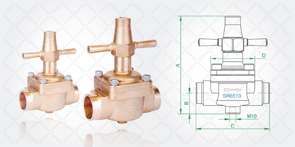 SR Globe Valve for Air Conditioner System
