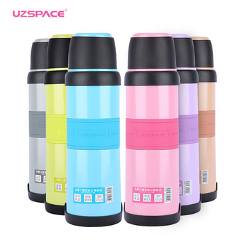 1L Austenite Stainless Steel double wall insulated Water Bottle Vacuum