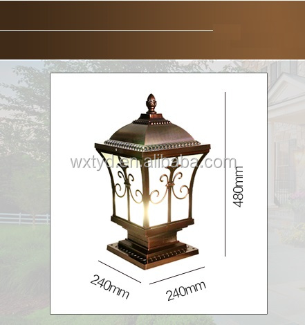 30w led low voltage 220v landscape led garden lamp