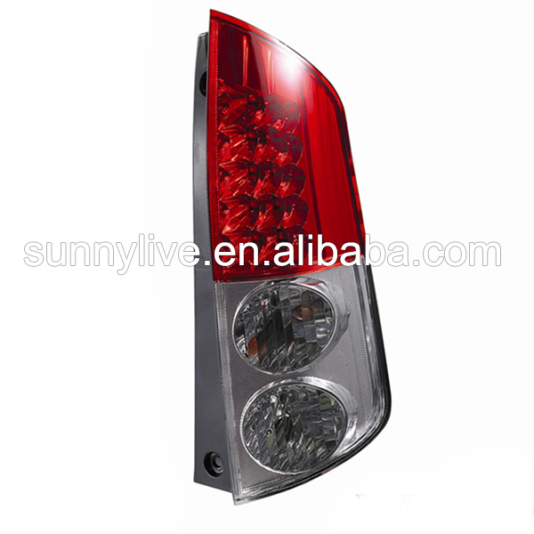 For TOYOTA MYVI LED Tail Lamp 2010 year RED Chrome Color YZ