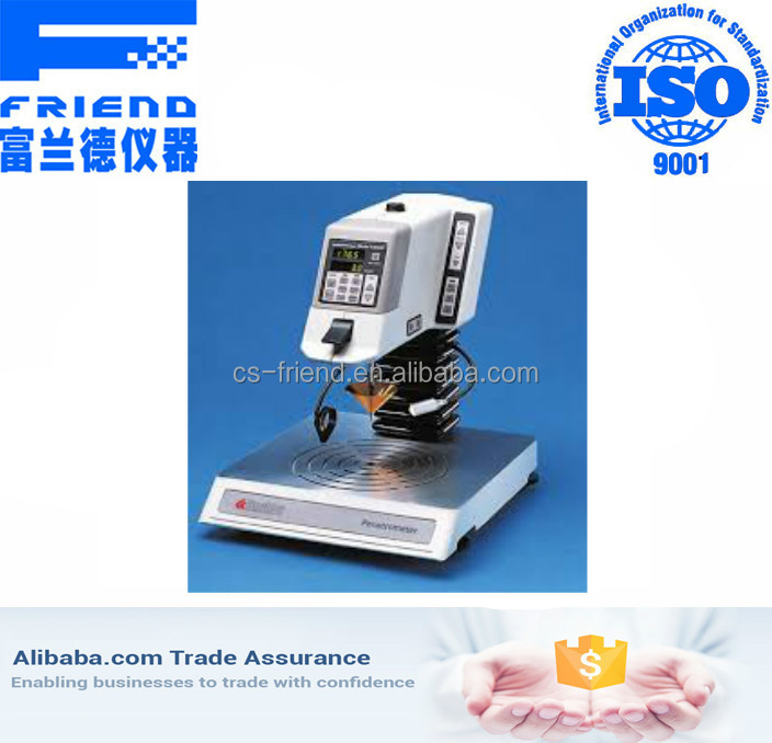 High technology digital needle penetrometer for grease wax and asphalt double penetration test