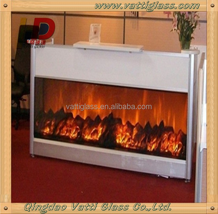 Ceramic Glass Fire Proof Glass For Fireplace Outdoor Gas Fireplace Glass