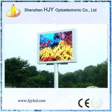 new technology p10 full color outdoor double sided led sign made in china