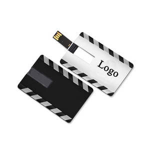 Waterproof Plastic Business Card USB Flash Drive Customized Logo USB Pen Drive 4gb 8gb