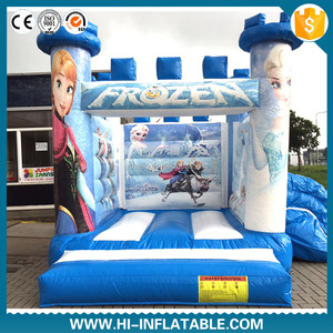 2017 New Design cartoon house,inflatable jumping castle,inflatable bouncy castle