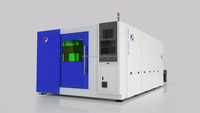 high efficiency fiber laser cutting machine with large table