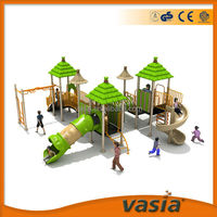 Kindergarten Commercial Mutifunction used outdoor playground equipment