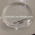 Clear Acrylic Round Logo Blocks