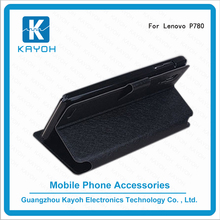 [kayoh]Wholesale phone case accessory for Lenovo P780,leather cover flip cover for Lenovo P780