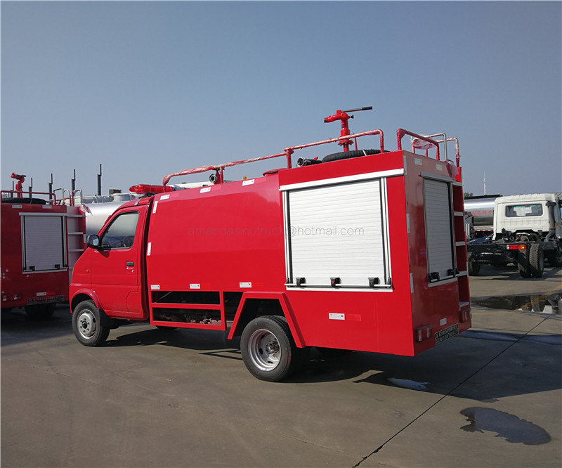 ChangAn low price left hand drive gasoline mini water tank fire engines fire fighting water truck