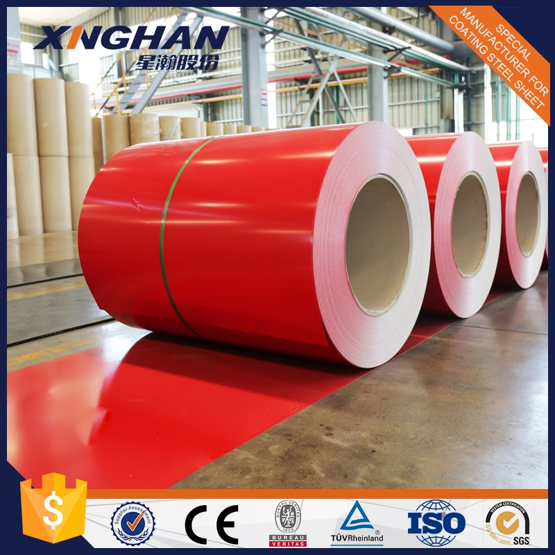 Prepainted Galvanized Steel Coil RAL9003 PPGI Coil From Shandong