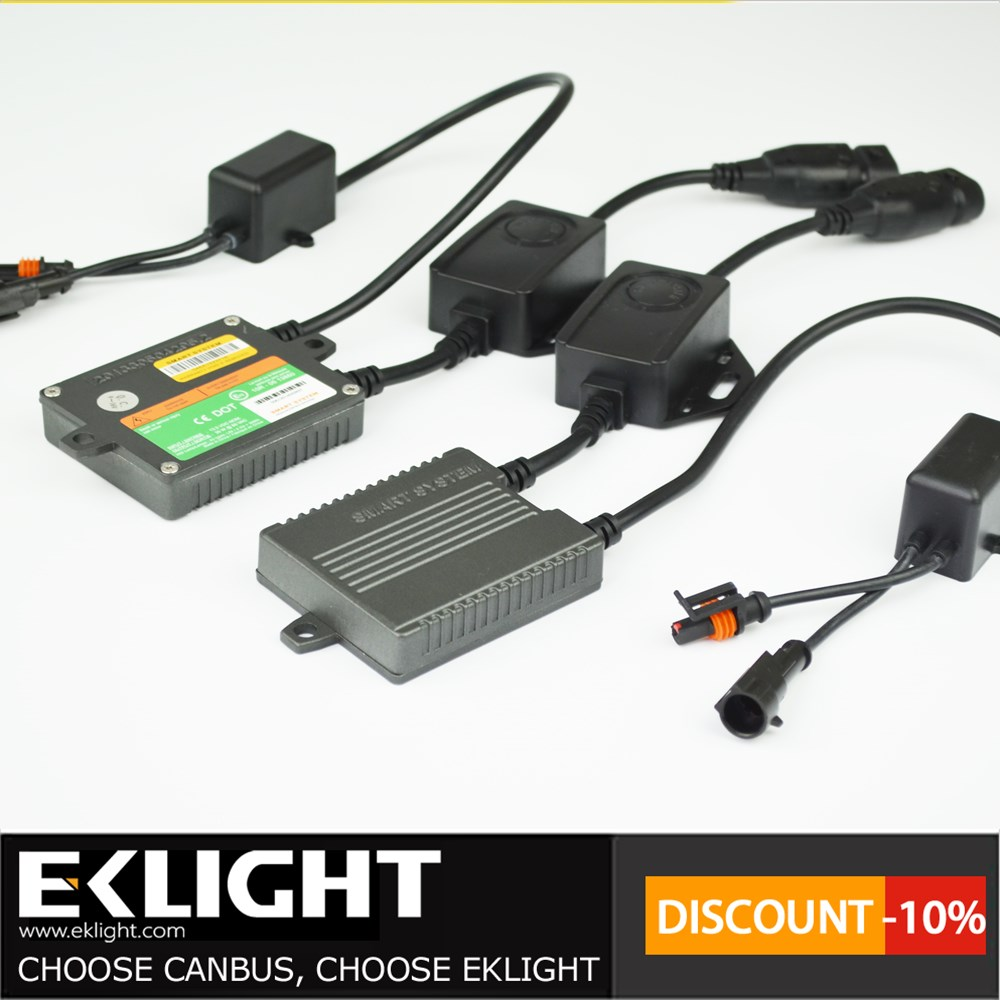 24 months warranty and Emark CE TUV approved 35w 55w 75W 9-16V ASIC technology Smart CANBUS HID XENON KIT 9007