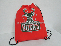 Promotional Non Woven Drawstring Bag/Drawstring Backpack/gym bag custom logo