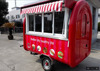 2016 CE Approved mobile food truck kraft hot dog, bycicle food cart concession trailer, ice cream cart for sale malaysia