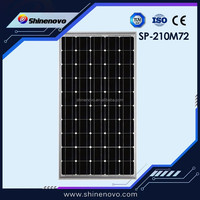 SP-210M72 solar modules pv panel Lowest Price MONO crystalline Solar Cell