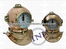 Brass and copper diving helmet, Diving Helmet, Diving helmet for sale