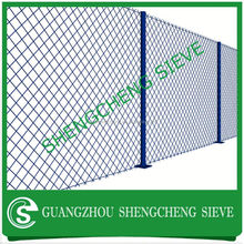 China wire mesh fence chain link fence extensions galvanized chain link fence