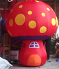 giant inflatable mushroom for promotion/inflatable vegetable