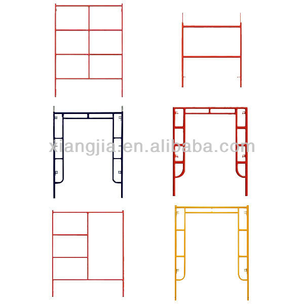1524*1219mm Q235 steel main frame scaffold for construction