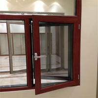 Aluminum glass window and door for building