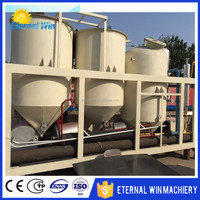 High quality mini soya oil refinery plant/ peanut oil refining machine