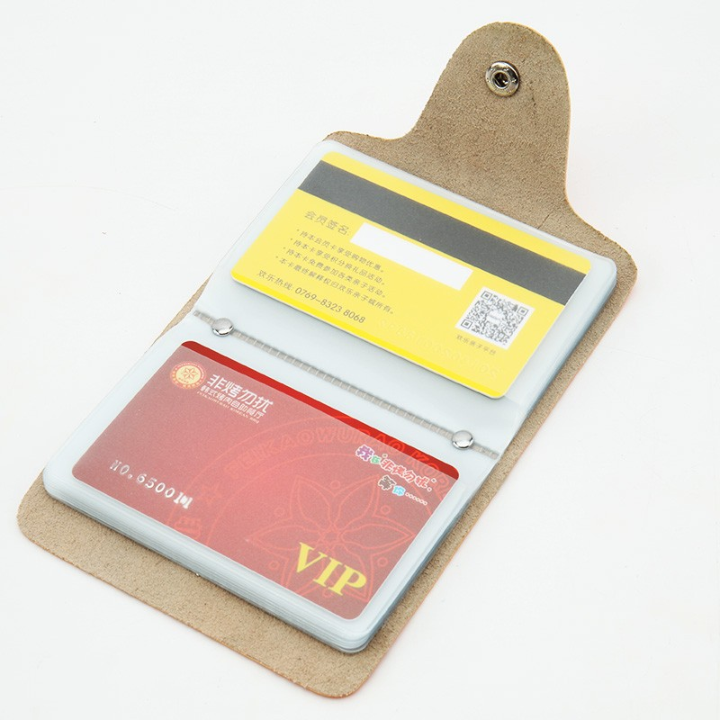 plastic id card cover