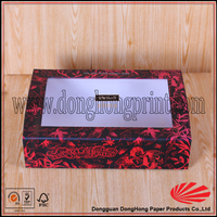 Clear hard plastic shoe box with hanger